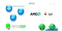 Responsive brand logo s prestashop for carousel