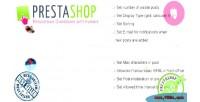 Responsive prestashop avatars with guestbook