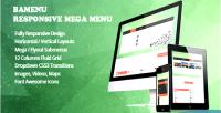 Responsive prestashop module menu mega