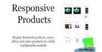 Responsive prestashop products