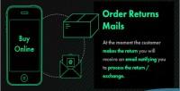 Returns order mails