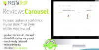 Reviews prestashop carousel