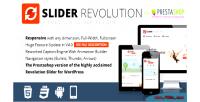 Revolution slider module prestashop responsive