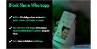 Share block whatsapp