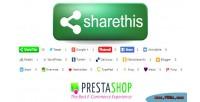 Sharethis social prestashop for buttons