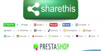 Sharethis social prestashop for buttons