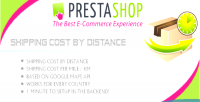 Shipping prestashop cost distance on based