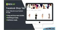 Shop facebook tab