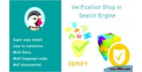 Shop verification engine search in