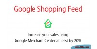 Shopping google module prestashop feed