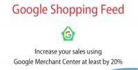 Shopping google module prestashop feed