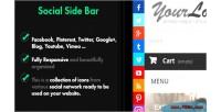 Side social bar