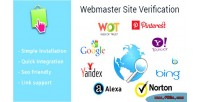 Site webmaster verification prestashop for module