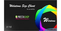 Size welutions prestashop for chart