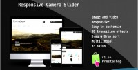 Slider camera module prestashop responsive