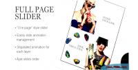 Slider fullpage prestashop module