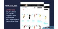 Slider product module prestashop responsive