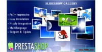 Slideshow responsive prestashop for gallery