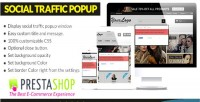 Social cw traffic prestashop for popup