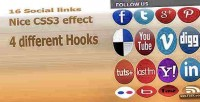 Social extra links
