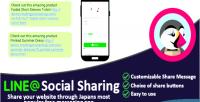 Social line sharing