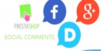 Social prestashop comments