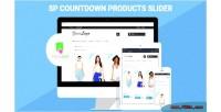 Sp countdown product slider module prestashop responsive