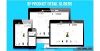 Sp product detail sliders module prestashop responsive