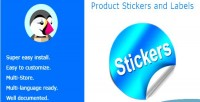Stickers product & labels