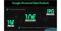 Structured google data products