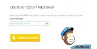 Subscribe auto module prestashop mailchimp