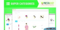 Super sp category module prestashop responsive