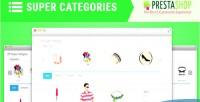 Super sp category module prestashop responsive