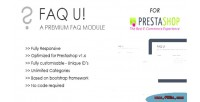 U faq prestashop for module