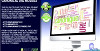 Url canonical module