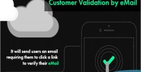 Validation customer by email