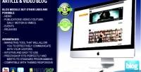 Video article prestashop for blog