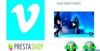 Video responsive vimeo