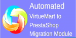 Virtuemart automated to modul migration prestashop
