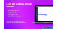 With login customer account
