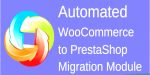 Woocommerce automated to modu migration prestashop
