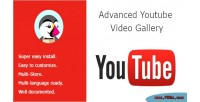 Youtube advanced video gallery