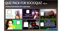 Quiz 20 pack 4 for vol socioquiz