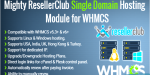Resellerclub mighty single whmcs hosting domain