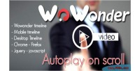 Video wowonder scroll on autoplay