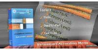 Accordion virtuemart menu