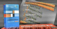 Accordion virtuemart menu