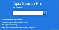 Ajax virtuemart module pro search