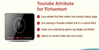 Attribute youtube for virtuemart