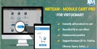 Cart module virtuemart for pro